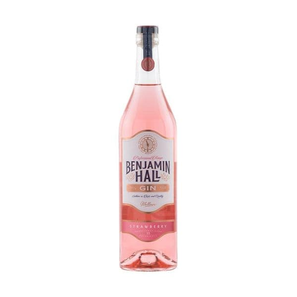 Benjamin Hall Strawberry Gin 70cl