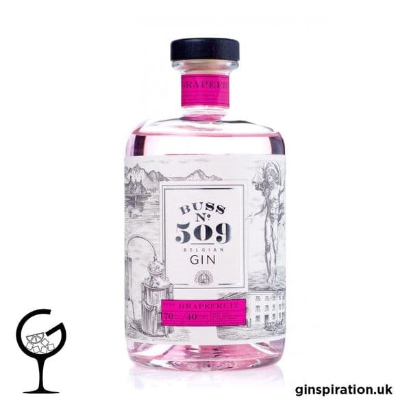 Buss No.509 Pink Grapefruit Gin 70cl