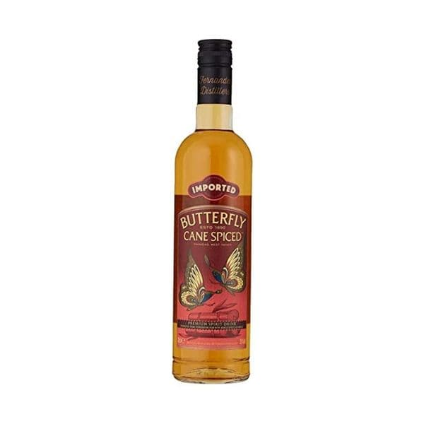 Butterfly Caned Spice Rum 70cl