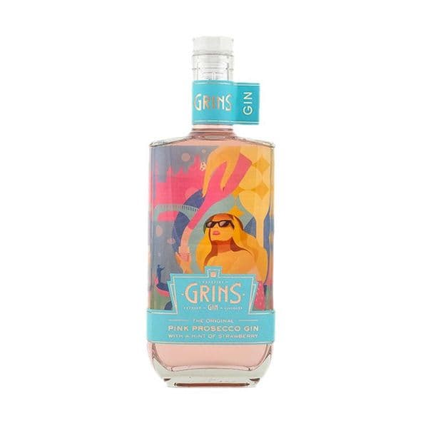Cheshire Grins Pink Prosecco Gin  70cl