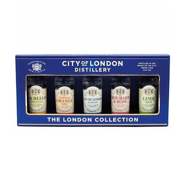 City Of London  Distillery: The London Collection 5cl x 5 Gift Set