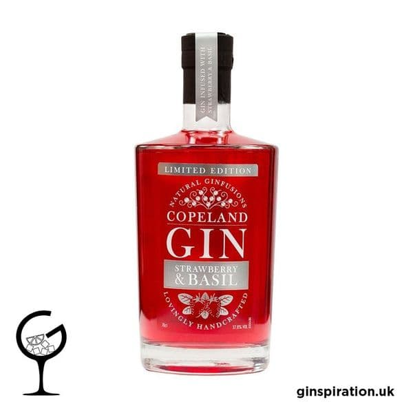 Copeland Strawberry & Basil Gin 70cl