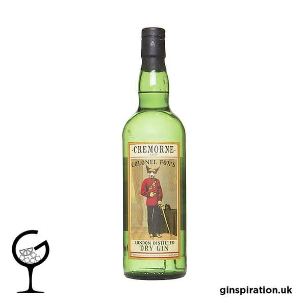 Cremorne Colonel Fox London Dry Gin 70cl