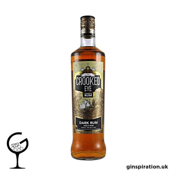 Crooked Eye Dark Rum 70cl