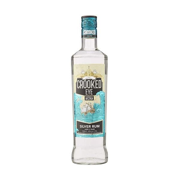 Crooked Eye Silver Rum 70cl