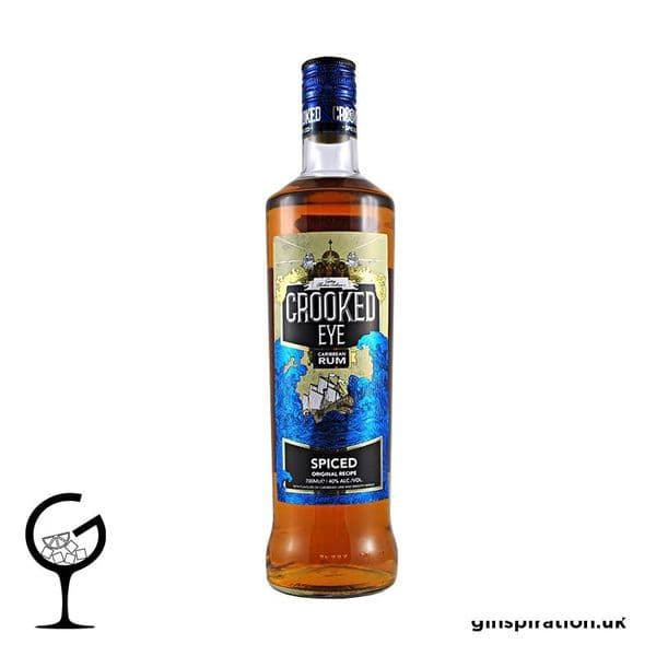 Crooked Eye Spiced Rum 70cl