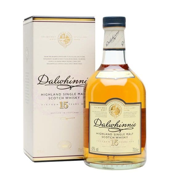 Dalwhinnie 15 Year Old Single Malt Whisky 70cl