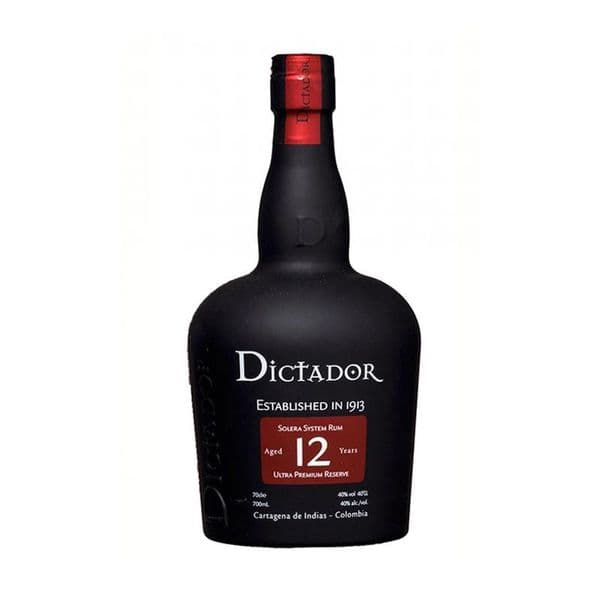 Dictador Aged 12 years Rum 70cl