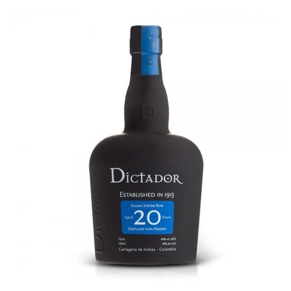 Dictador Aged 20 years Rum 70cl