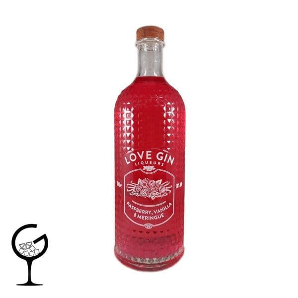 Eden Mill Love Gin Raspberry, Vanilla & Meringue Gin Liqueur 70cl