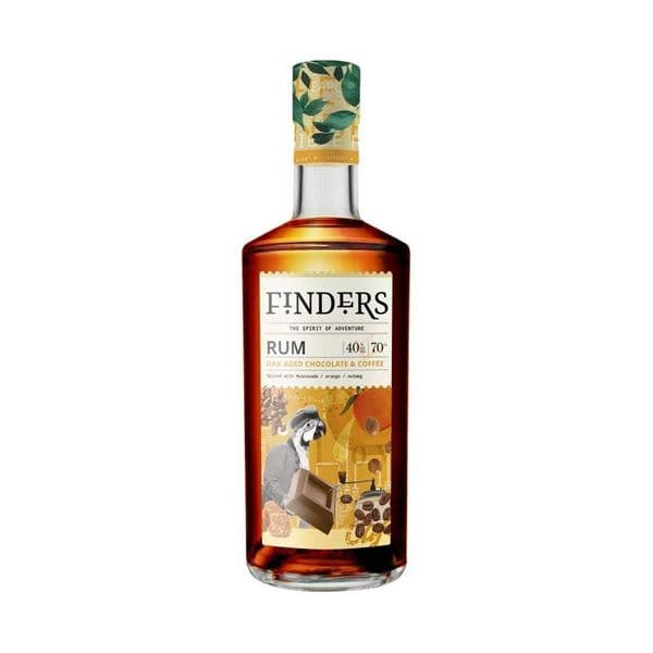 Finders Oak Aged Chocolate & Coffee Spiced Rum 70cl