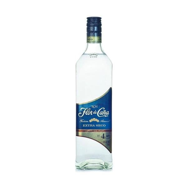 Flor De Cana Extra Dry 4 Year Old White Rum 70cl