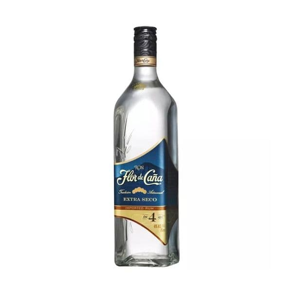 Flor De Cana Extra Dry 4 Year old White Rum 70cl | Buy Online Now!