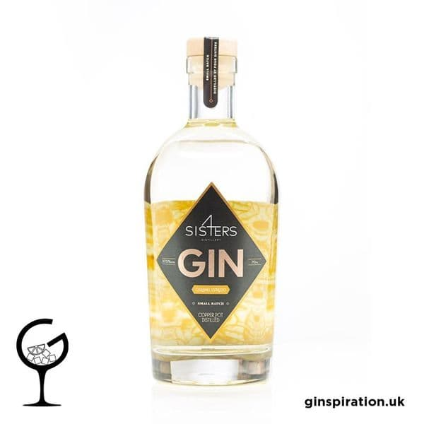 Four Sisters Caramel Espresso  Gin 70cl | Ginspiration.uk