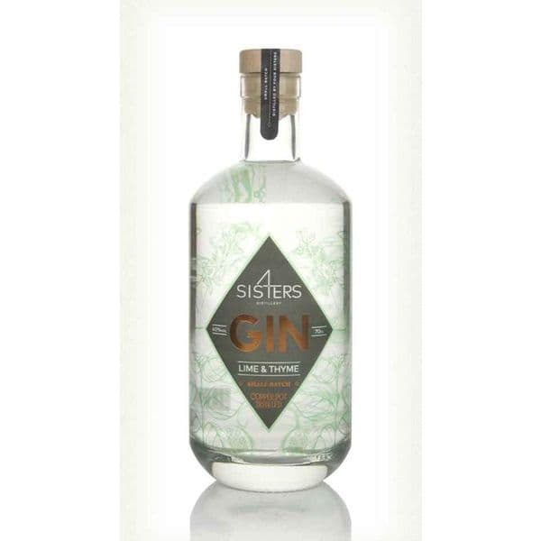 Four Sisters Lime & Thyme  Gin 70cl