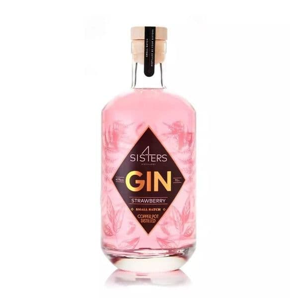 Four Sisters Strawberry Edition Gin 70cl