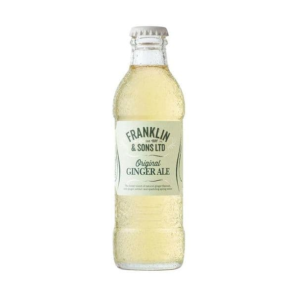 Franklin & Sons Ginger Ale 200ml x 24 (Case)