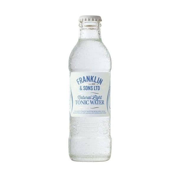 Franklin & Sons Light Tonic 200ml x 24 (Case)