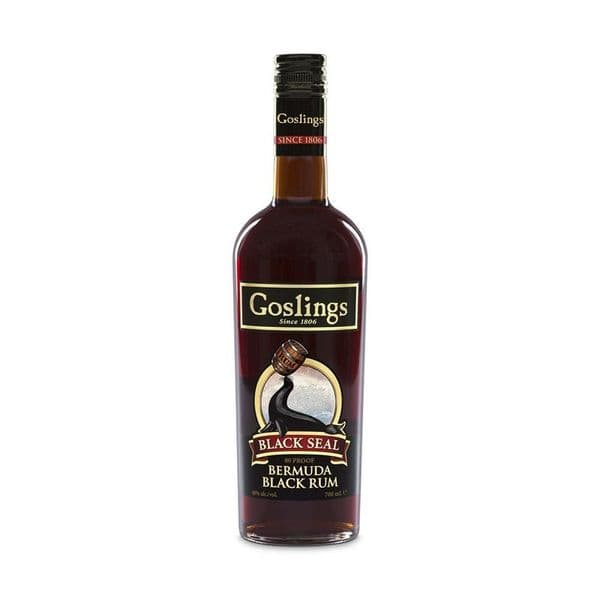 Goslings Black Seal Bermuda Black Rum 70cl