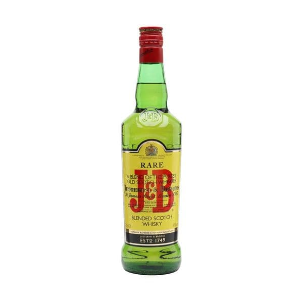 J&B Rare Blended Whisky 70cl