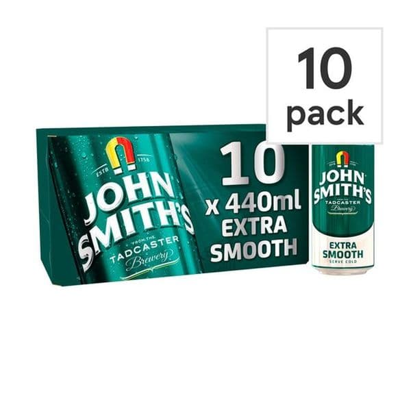John Smiths Smooth Ale Cans 10 x 440ml