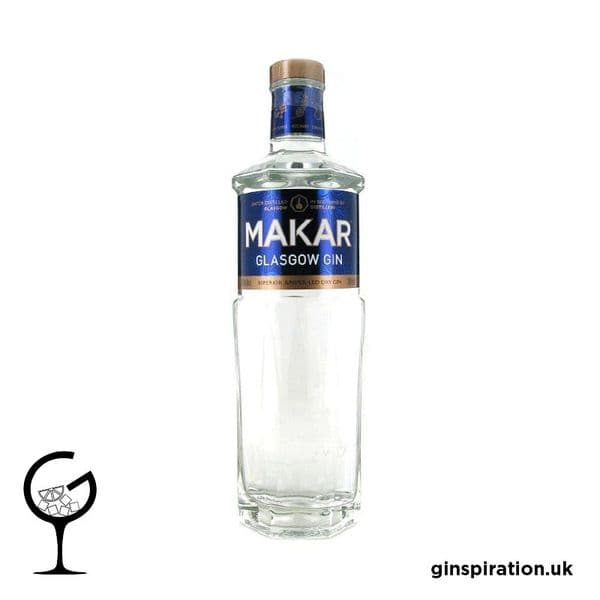 Makar Glasgow London Dry Gin 70cl