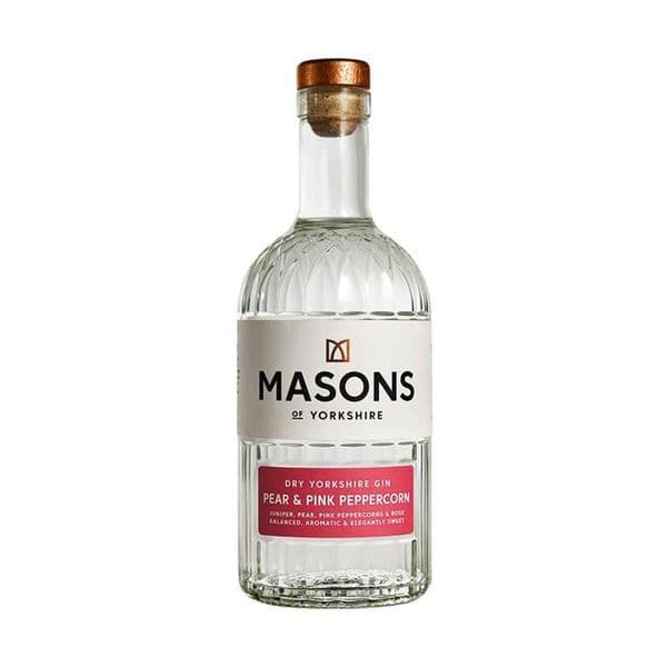 Masons Of Yorkshire Pear & Pink Peppercorn Gin 70cl | Buy Online Now!