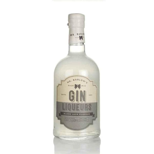 Mr Barlows Black Jack Gin Liqueur 50cl