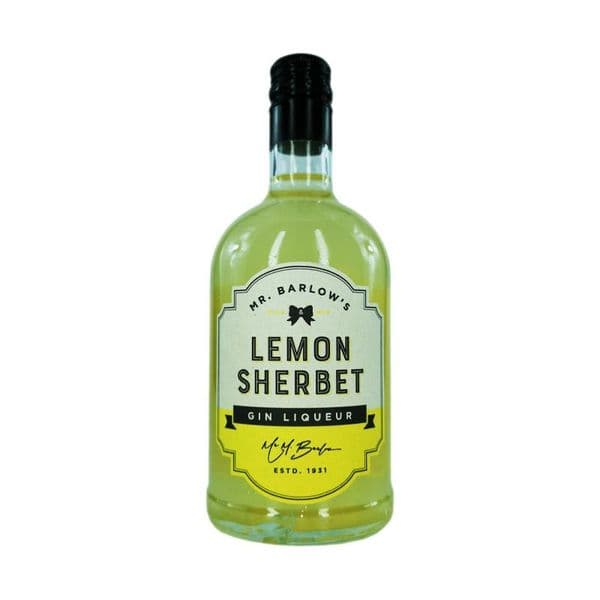 Mr Barlows Lemon Sherbet Gin Liqueur 50cl