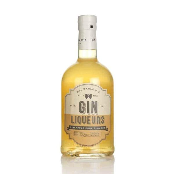 Mr Barlows Pineapple Cube Gin Liqueur 50cl