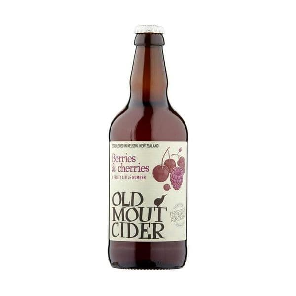 Old Mout Berries & Cherries Cider 500ml x 12