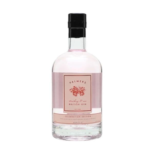 Palmers Strawberry & Rose Gin 70cl