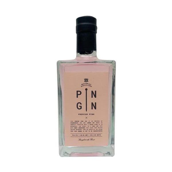 Pin Gin Strawberry Infused 70cl