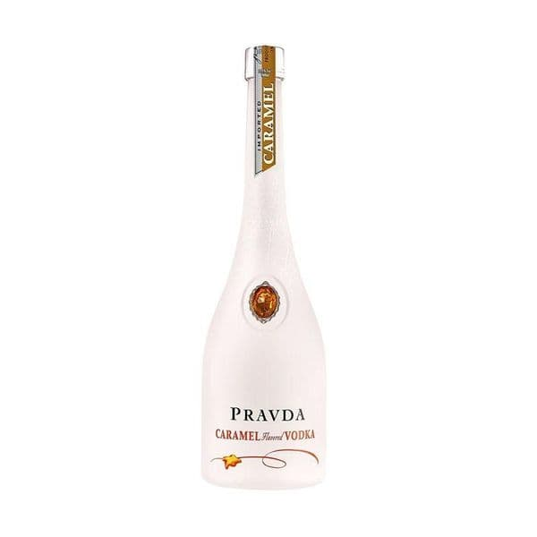 Pravda Caramel Vodka 70cl