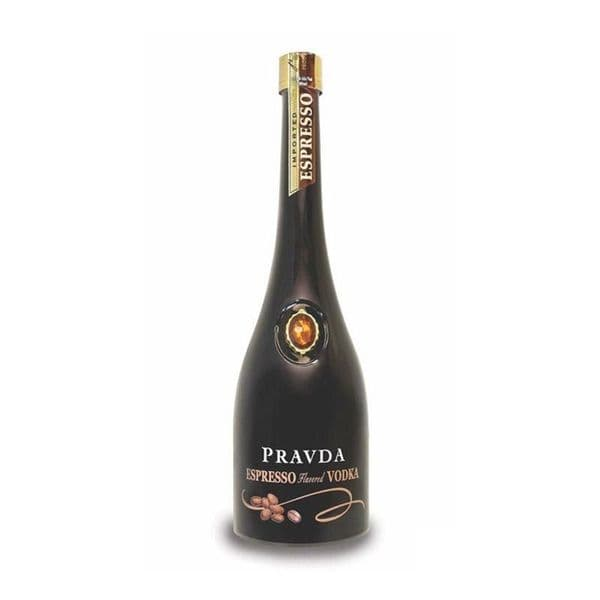 Pravda Espresso Vodka 70cl | Buy Online Now!