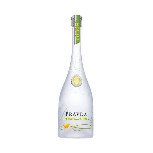 Pravda Lemon Vodka 70cl