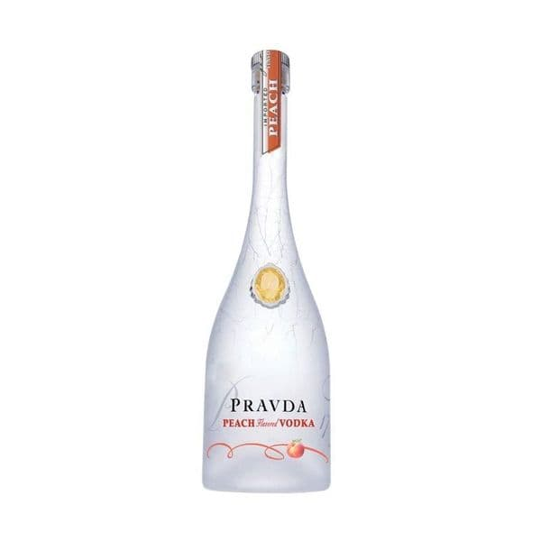 Pravda Peach Vodka 70cl
