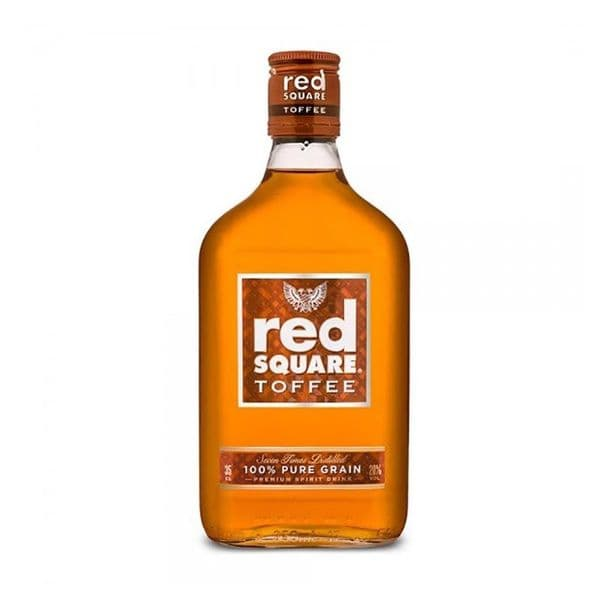 Red Square Toffee Vodka Spirit 35cl