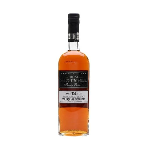 Rum Sixty Six Family Reserve 12 Year Old Rum 70cl