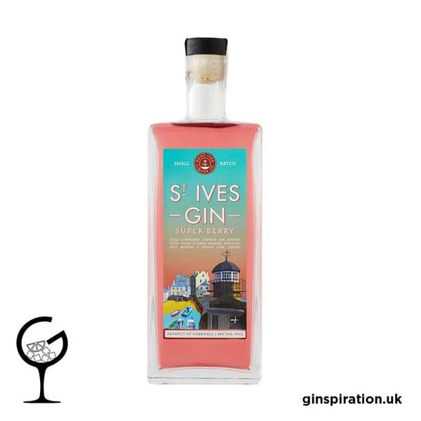 St. Ives Super Berry Gin 70cl