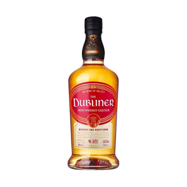 The Dubliner Irish Honeycomb  Whiskey Liqueur 70cl