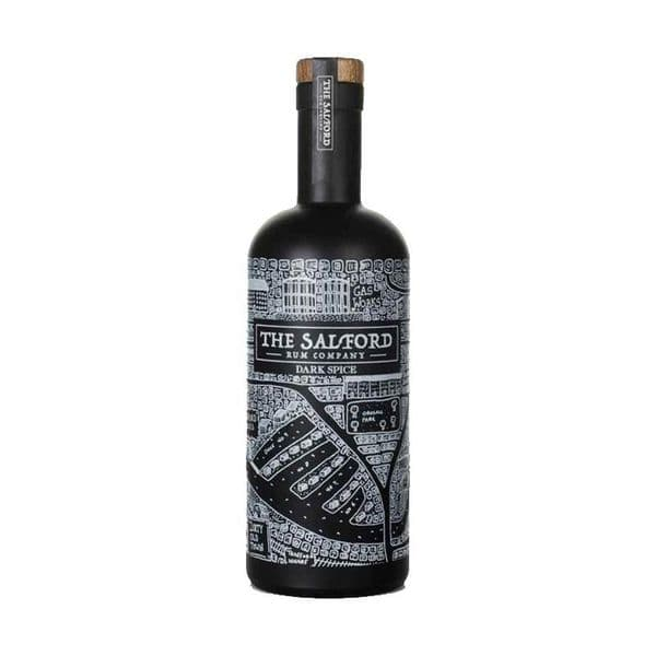 The Salford Dark Spiced Rum 70cl