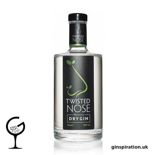 Twisted Nose Water Crest London Dry Gin 70cl