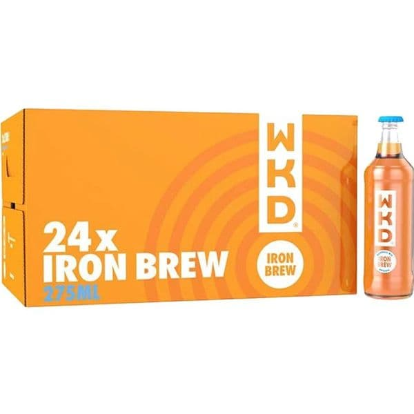 WKD Original Iron brew 275ml x 24 (Case)