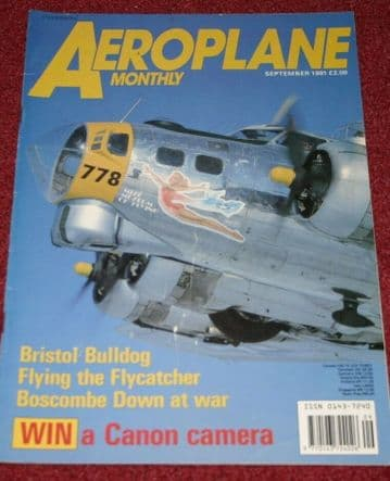 Aeroplane Monthly Magazine 1991 September Bristol Bulldog,Boscombe Down,BSAA