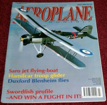 Aeroplane Monthly Magazine 1993 July Hamlicar,Constellation,Bristol Freighter
