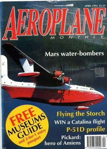 Aeroplane Monthly Magazine 1994 April Martin Mars,Piaggio,Khoolhoven,MS505,Fairey IIIF