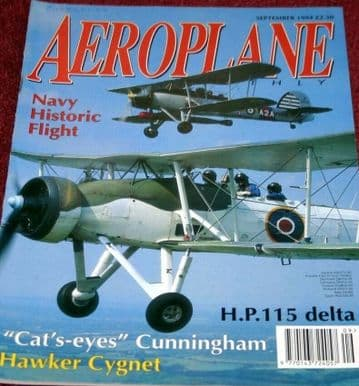 Aeroplane Monthly Magazine 1994 September Westland Wapati,Wallace,HP115,Canberra
