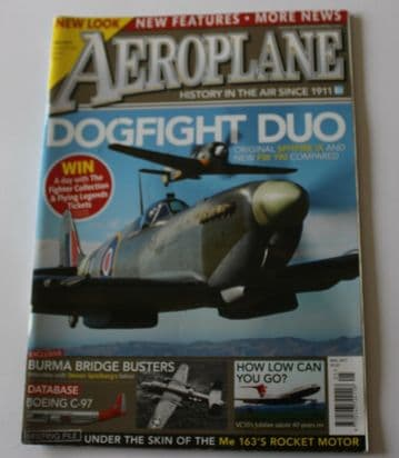 Aeroplane Monthly Magazine 2017 May Boeing C-97,Gnat,White Waltham,B-25 490th