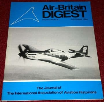 Air Britain Digest Magazine 1984 July-August SWEB Helicopters Bristol,Air Racing